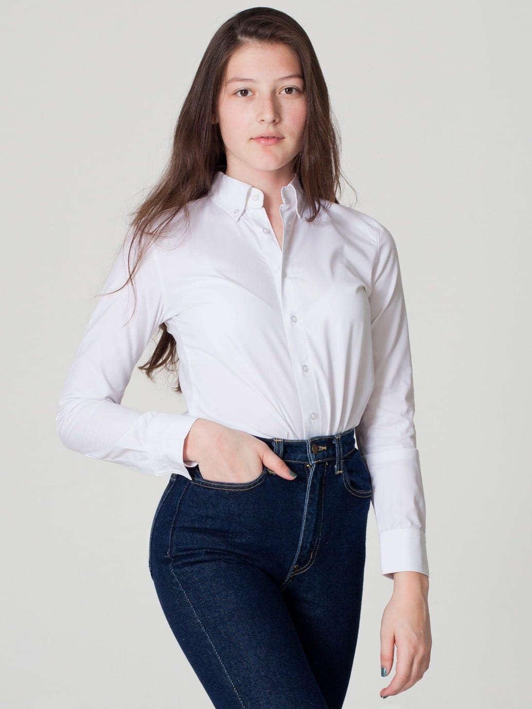 Style A Basic White Shirt