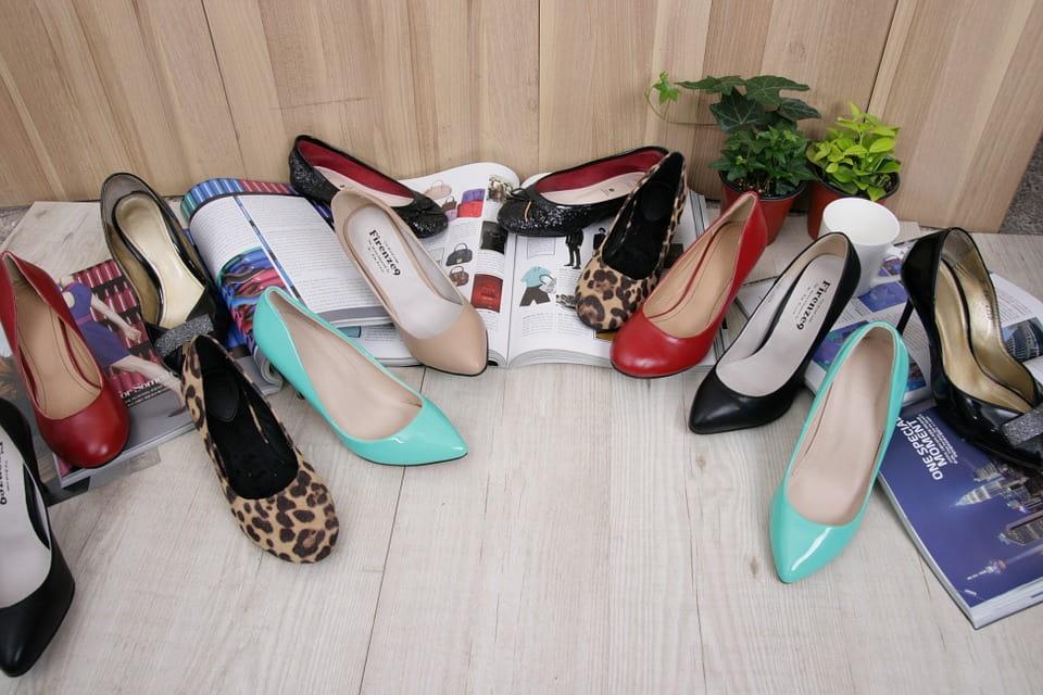 pair of heels