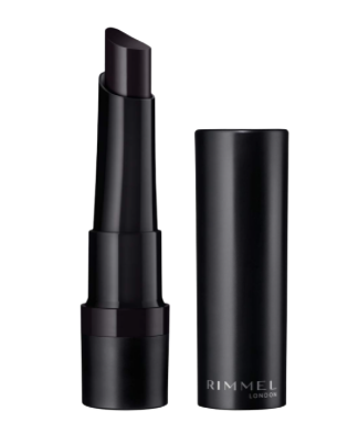 Rimmel lasting finish extreme lipstick, Off Black, 1 Count