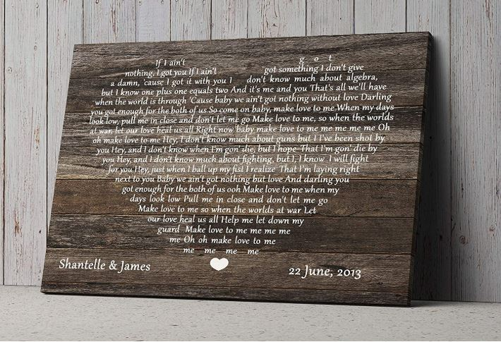 Wedding anniversary gifts for her, Wedding gifts for couples-image