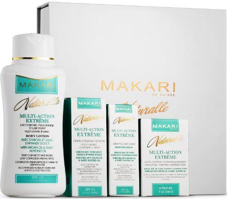 Makari Naturalle Multi-Action Extreme Whitening & Moisturizing Gift Set:-image