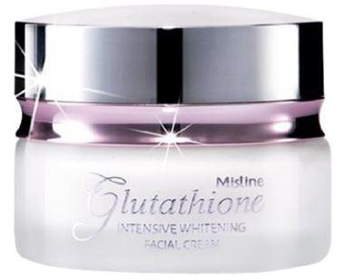 Thailand Best Mistine Glutathione Intensive Whitening Facial Cream:-image