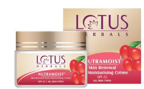 Lotus Herbals Skin Renewal Daily Moisturizing Cream-image
