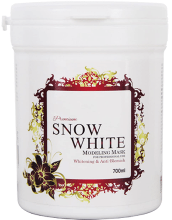Snow White Whitening Milky Pack 200g for Face and Body:-image