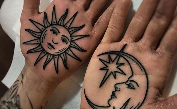 Palm Tattoo