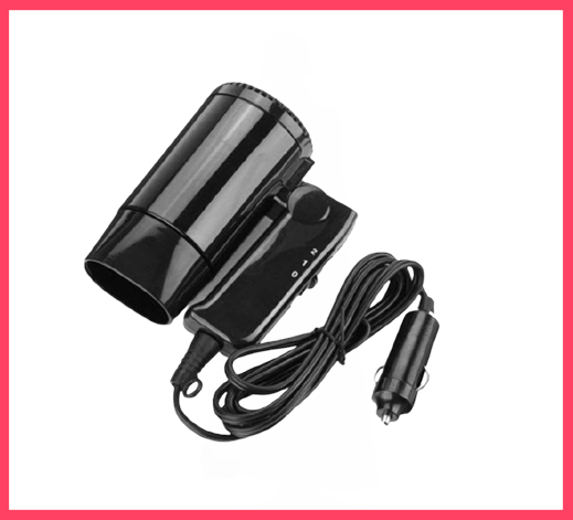Eugeneq Car 12V Portable Folding Hair Dryer