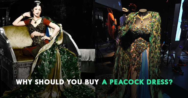 Why Should You Buy A Peacock Dress