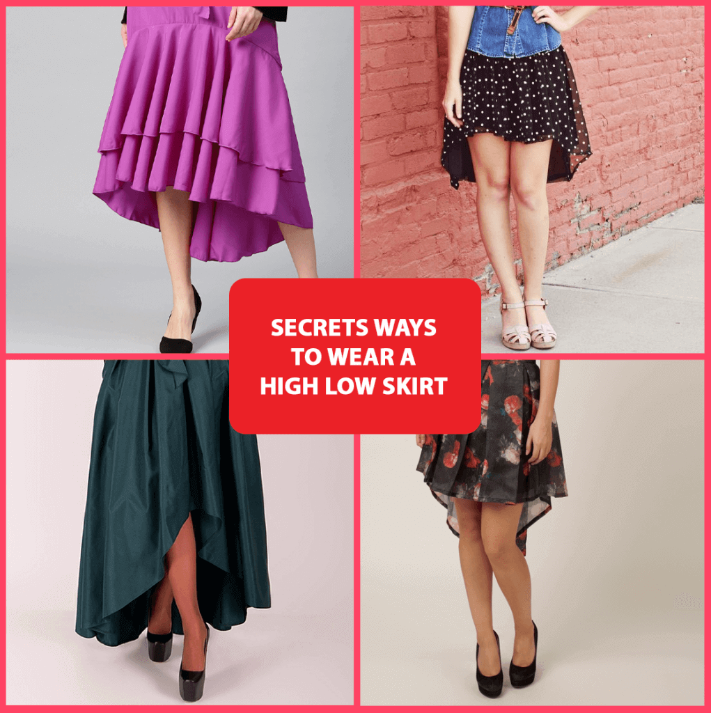 Wear or Style A High Low Skirt