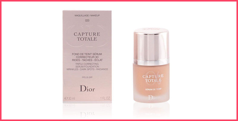 Christian Dior Capture Total Triple Correcting Serum SPF 25 Foundation