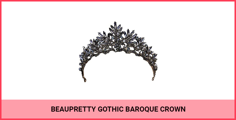 Beaupretty Gothic Baroque Crown