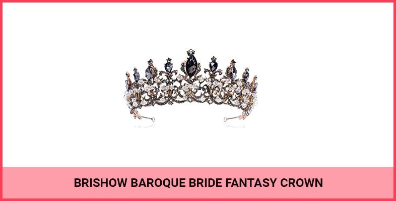 Brishow Baroque Bride Fantasy Crown