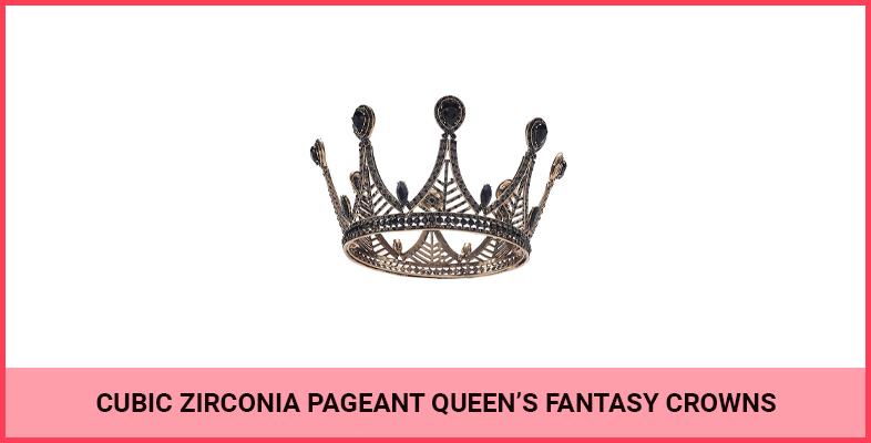 Cubic Zirconia Pageant Queen's Fantasy Crowns