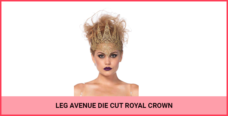 Leg Avenue Die Cut Royal Crown