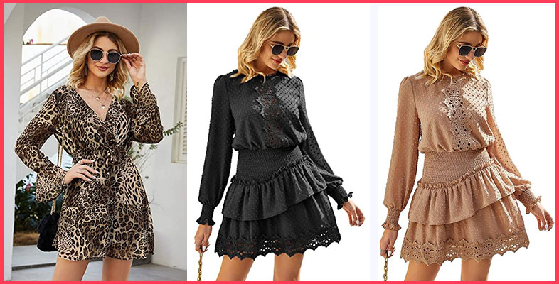 MsLure-Women's-Elegant-Lace-Chiffon-Mini-Dress