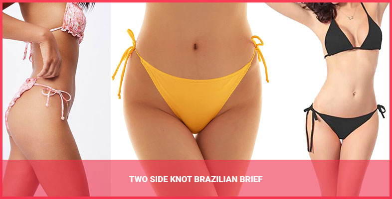 Two Side Knot Brazilian Brief