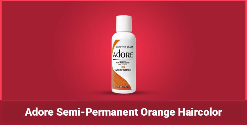 Adore Semi-Permanent Orange Haircolor