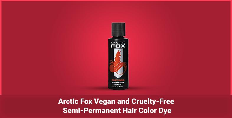 Arctic Fox Vegan and Cruelty-Free Semi-Permanent Hair Color Dye