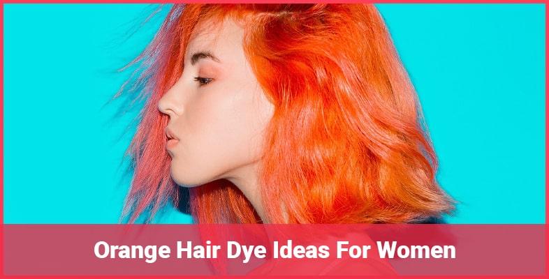 Best Organic Orange Hair Dye