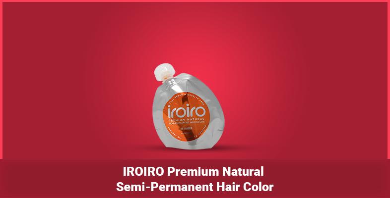 IROIRO Premium Natural Semi-Permanent Hair Color
