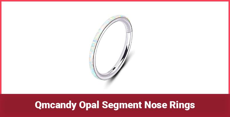 Qmcandy Opal Segment Nose Rings