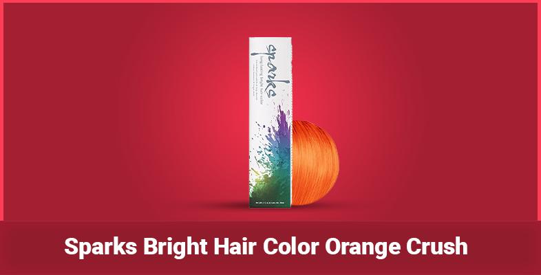 Sparks Bright Hair Color Orange Crush