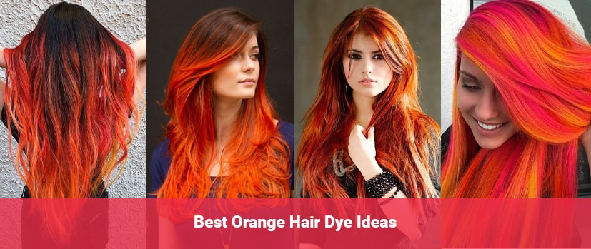 orange hair dye