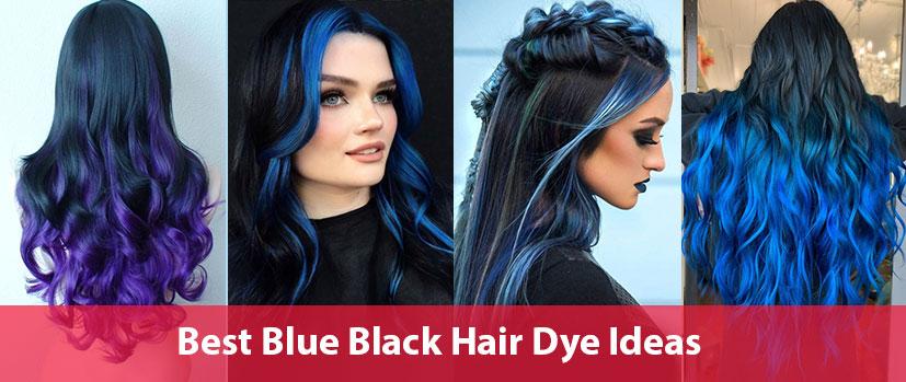 blue black hair dye