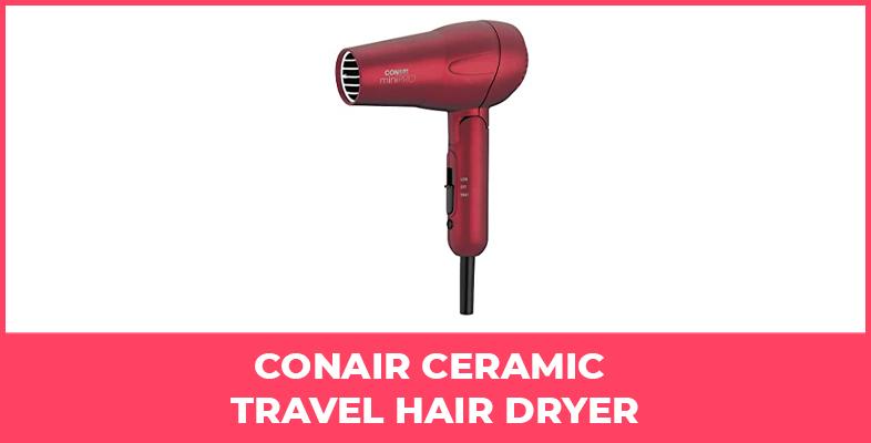 Conair Ceramic Travel Hair Dryer