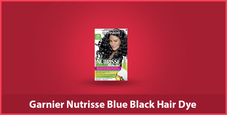 Garnier Nutrisse Blue Black Hair Dye