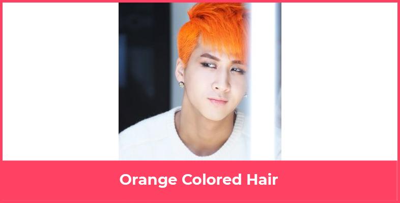 Orange Colored Hair
