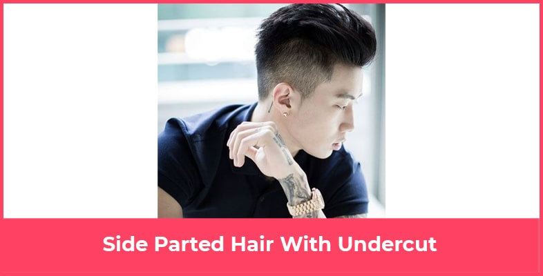 Side Parted Hair With Undercut