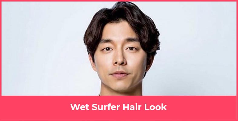 Wet Surfer Hair Look