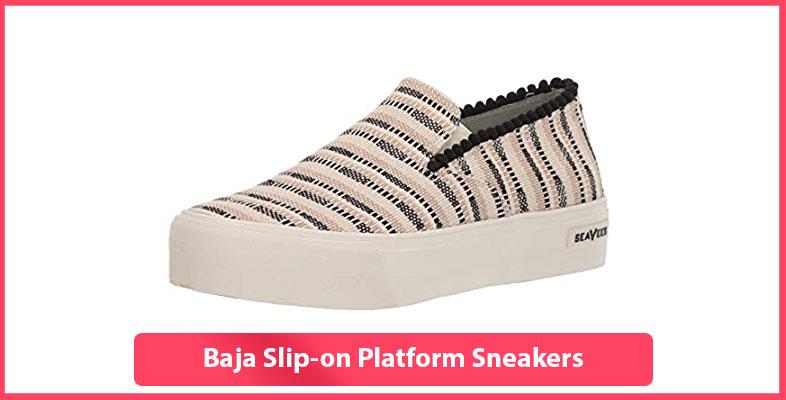 Baja Slip-on Platform Sneakers