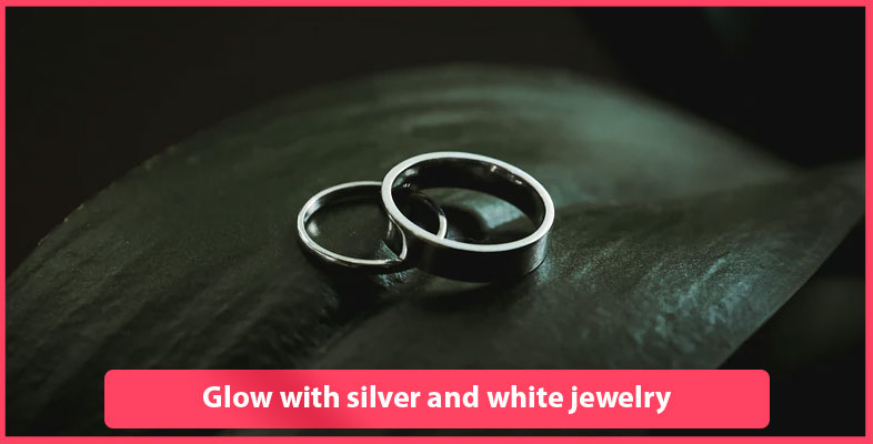 Glow With Silver And White Jewelry