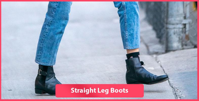 Straight Leg Boots