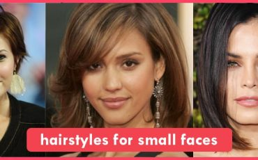 hairstyles for small faces