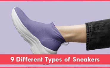 types of sneakers