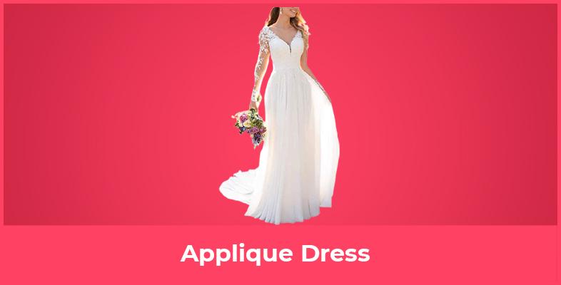 Applique Dress