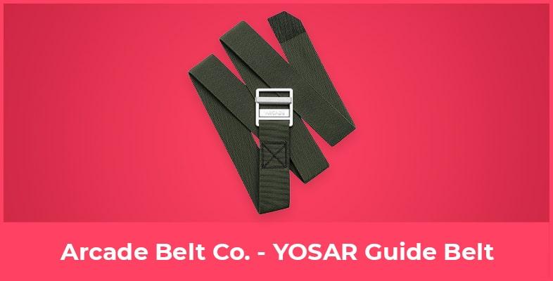 Arcade Belt Co. - YOSAR Guide Belt