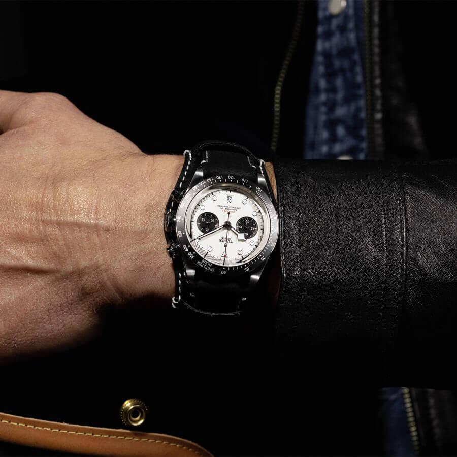 1. A signature watch