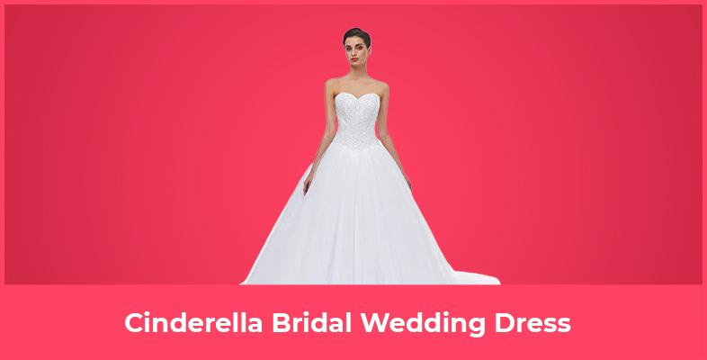 Cinderella Bridal Wedding Dress