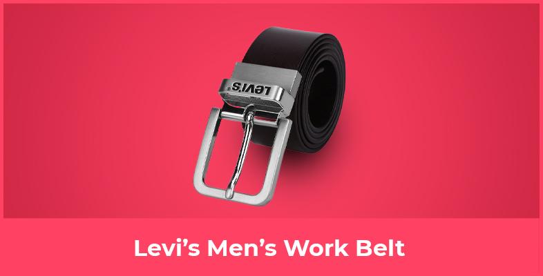 Levi's Men's Work Belt