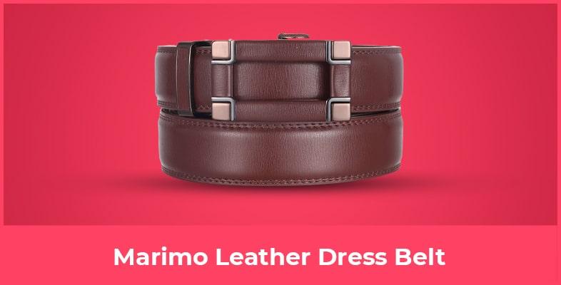 Marimo Leather Dress Belt