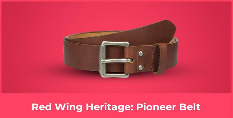 Red Wing Heritage Pioneer Belt