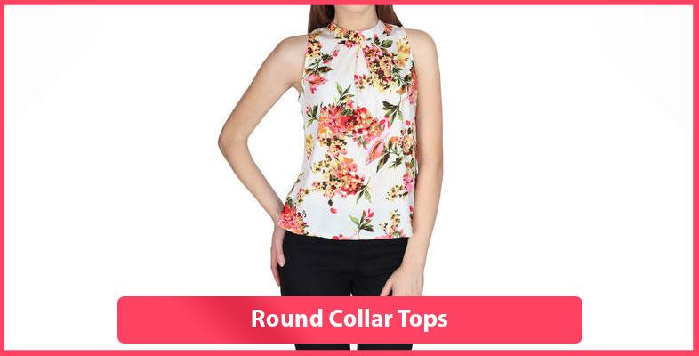 Round Collar Tops
