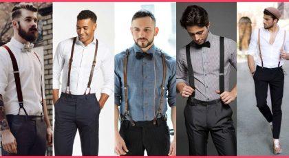 Suspenders for men