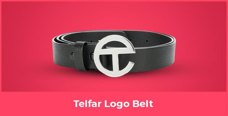 Telfar Logo Belt