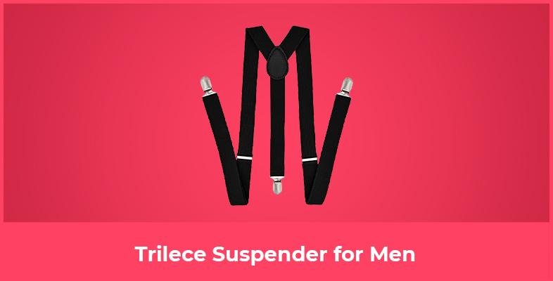 Trilece Suspender for Men