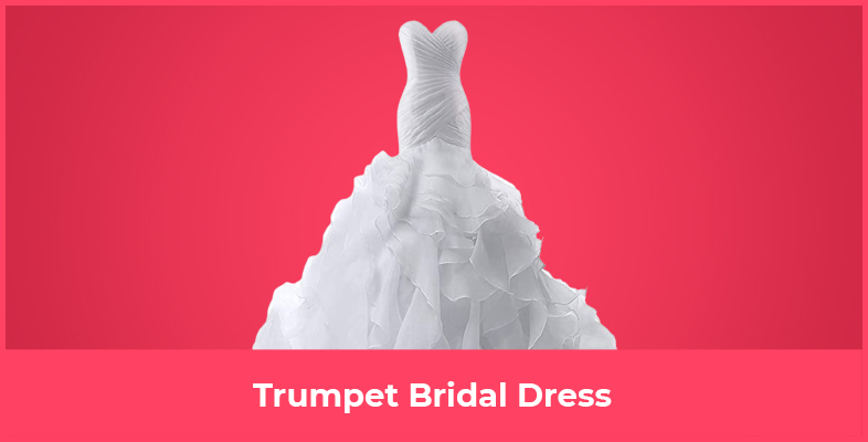 Trumpet Bridal Dress