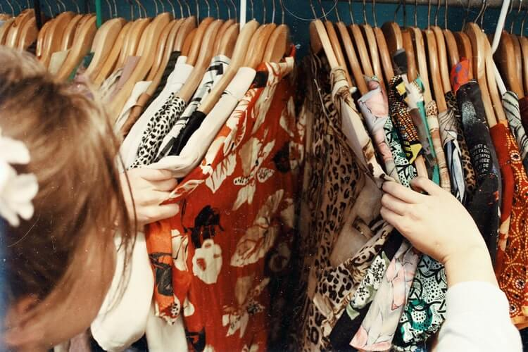 Shop at Thrift Stores for eco-friendly clothing